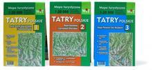 Mapa turystyczna Tatry Polskie 3w1 WIT / wysyłka w 24h