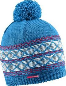 Salomon czapka Kuba Beanie, wielokolorowa, jeden rozmiar L37559500_Methyl Blue/Lotus Pink/White_Uni