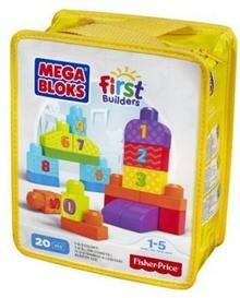 Mega Bloks First Builders Liczymy 123 DLH85