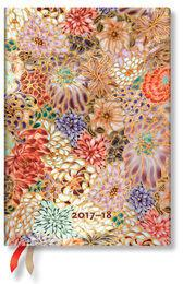 Paperblanks Kalendarz 2017-18 18-mc Kikka Midi