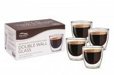 AQUALOGIS 4 Szklanki Termiczne Aqualogis Do Kawy Cappucino 200ml 4x AL-CG200
