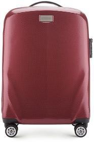 Wittchen Mała walizka 56-3P-571 bordowa 56-3P-571-35