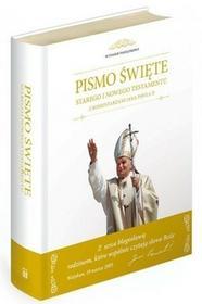 M Wydawnictwo praca zbiorowa Pismo święte Starego i Nowego Testamentu z komentarzami Jana Pawła II