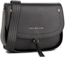 4a5597c690f0c -27% Tommy Hilfiger Torebka City Leather Saddle Bag Nubuck AW0AW04660 002