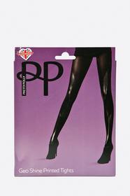 Pretty Polly Rajstopy Geo Print PNAUY4