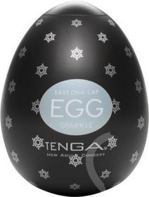Tenga Easy Love Masturbator jajko Egg Sparkle Black