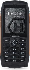 myPhone Hammer 3+ Dual Sim Czarno-pomarańczowy