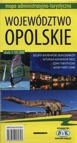 Bik Województwo opolskie Mapa administracyjno-turystyczna 1:185 000 - BiK