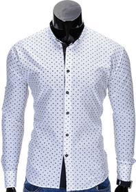 Ombre Koszula K314 - BIAŁA