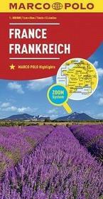 Francja Mapa - Euro Pilot