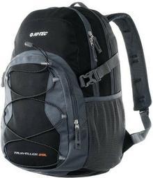 Hi-Tec Plecak TRAVELLER 25L BLACK/GREY 5901979151692