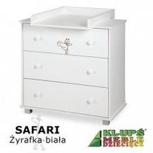 Klupś Komoda Safari Żyrafka Biała DD11-539B2_20161130113830
