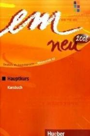 Hueber Em neu hauptkurs Kursbuch - dostawa od 3,49 PLN Perlmann-Balme Michaela, Schwalb Susanne