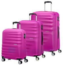 Samsonite AT by Zestaw walizek AT WAVEBREAKER 74137 Różowe - różowy