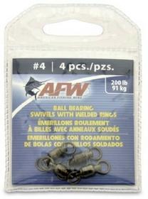 American Fishing Wire amerykańskiej Fishing wire Black łożysko kulkowe sztuka), rozmiar funtów-Test FWBB04B-A