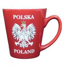Kubek z napisem pamiątka z Polski gift Polska 0873