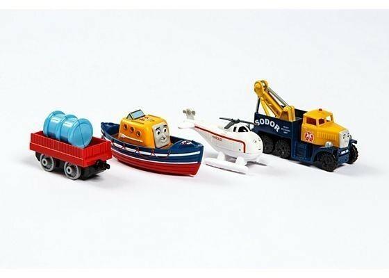 Fisher Price Tomek i Przyjacele Wielopak lokomotywek