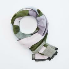 Reserved Reserved - Szalik we wzory - Zielony