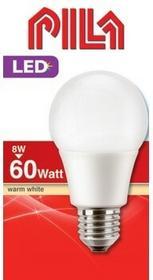 Philips Pila Żarówka LED E27 SMD 8W (60W) 810lm 230V barwa ciepła 64073 8727900964073