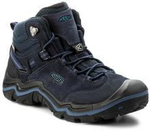 Keen Trekkingi Wanderer Mid Wp 1016987 Dark Sea/Night