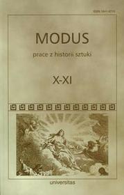 Modus Prace z historii sztuki Tom X-XI - UNIVERSITAS
