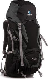 Deuter Plecak trekkingowy ACT Lite 40 + 10 Black/Granite roz uniw 3340115-7410) 3340115-7410