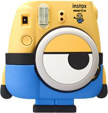 FujiFilm Instax Mini 8 Instant Minion + Wkład Colorfilm Instax Mini Glossy 2x10 za 1zł.