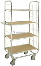 Kongamek Wózek 4 półki, wym. 815x470x1590mm
