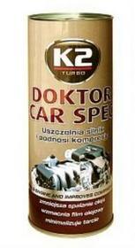 K2 Doktor Car Spec - dodatek do oleju uszczelniający silnik 443 ml T350