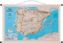 National Geographic Hiszpania i Portugalia Classic mapa ścienna polityczna 1:2 074 000