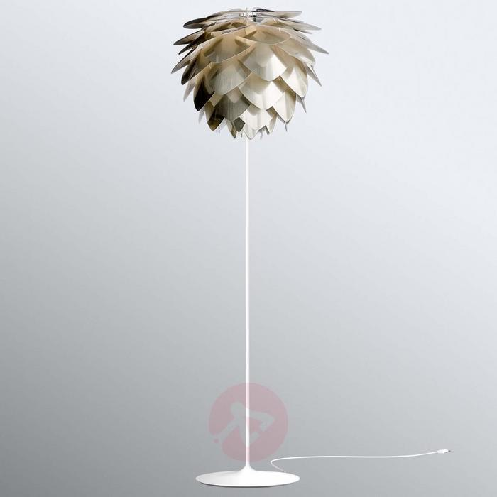 Vita COPENHAGEN Mosiądz szczotkowany lampa stojąca Silvia medium