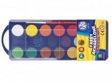 Astra Farby akwarelowe 18 kolorów fi 23,5mm 83210900