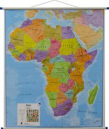 Afryka mapa ścienna polityczna 1:8 000 000 Maps International