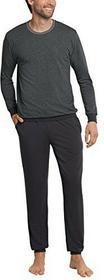 Schiesser męskie dwóch częściowy strój piżama Lang -