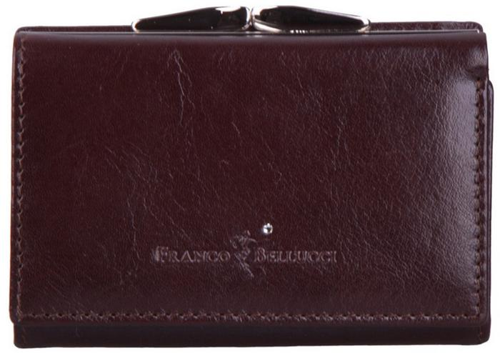 b81b289c7a82c Bellucci Portfel damski skórzany D2 Brązowy - brązowy – ceny