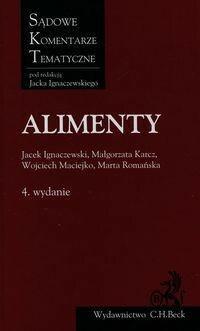 C.H. Beck praca zbiorowa Alimenty, wydanie IV