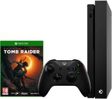 Microsoft Xbox One X 1TB Czarny + Shadow Of The Tomb Raider