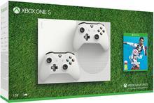 Microsoft Xbox One S 1TB Biały + FIFA 19 + dodatkowy kontroler