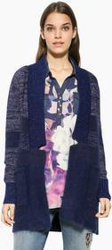 Desigual sweter damski Jane L niebieski