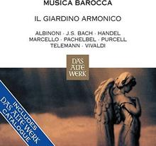 Musica Barocca CD) Armonico Il Giardino Antonini Giovanni