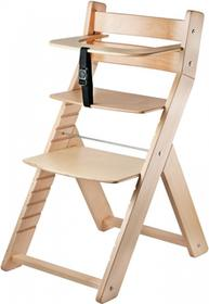 Wood Partner Krzesło rosnące dla dzieci LUCA naturalny/naturalny