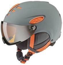 Uvex Kask narciarski z szybą HLMT 300 grey orange HLMT 300 grey orange