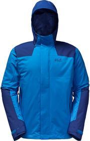 Jack Wolfskin Kurtka 3in1 ALTIPLANO MEN brilliant blue