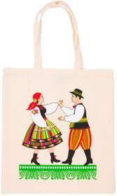 Bawełniana torba folk para łowicka FOLKSTAR