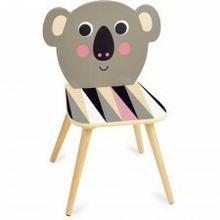 Vilac Krzesło drewniane dla dzieci Miś Koala -I.P. Arrhenius, VIL-07744