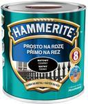 Hammerite Farba do metalu Prosto Na Rdzę matowy czarny 2 5 l