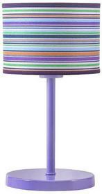 Lampex Lampka mała Femmi, 40 W, fioletowy, 33x18 cm