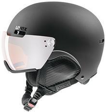Uvex Hlmt 500 Visor kask narciarski, czarny, 52-55 cm 5662132003