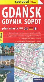 Gdańsk, Gdynia, Sopot, 1:26 000 Expressmap