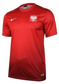 Nike dla dzieci POL Yth HM supporters Tee Euro 2016 koszulka Poland, czerwony, S 846807-611